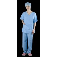 SCRUB SUITS TOPS AND TROUSERS (SINGLES) (Medical)