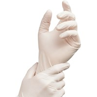 WHITE NITRILE GLOVES (Medical)
