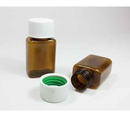 BOTTLE & CAPS 32CC TOT-LOC GREEN (200 X CAPS & 200 X BOTTLES)