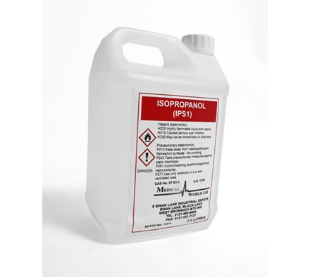 ISOPROPYL ALCOHOL 2.5LTR