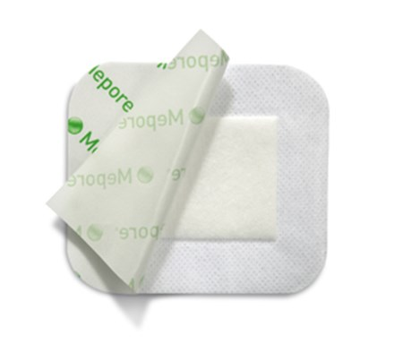 MEPORE  9CM X 15CM LOW  EXUDATE ABSORBENT SELF ADHESIVE DRESSING X 50