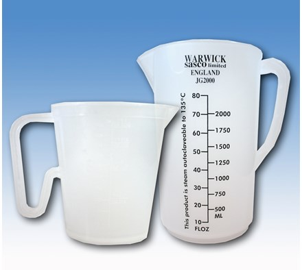 JUG MEASURING 500MLS CLEAR X 50