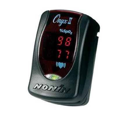 PULSE OXIMETER ONYX II (2 FINGER) TYPE WITH HARD CASE
