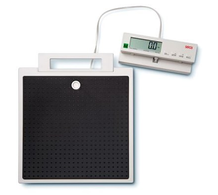 SCALE SECA 899 FLAT BMI, HOLD AND TARE WITH CABLE REMOTE DISPLAY DIGITAL III (200KG)