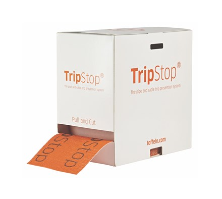 TRIPSTOP CABLE COVER 40M ROLL IN DISPENSER BOX