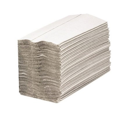 PAPER TOWEL C/FOLD WHITE 1 PLY 217MM X 305MM X 2880