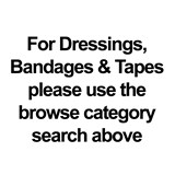 Dressings, Bandages & Tapes