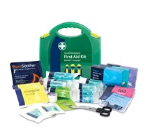 FIRST AID KIT SMALL (BSI) AURA BOX INCLUSIVE OF BRACKET