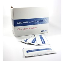 AQUAGEL LUBRICATING GEL 5G SACHETS X 150 (OTC)
