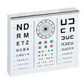 EYE TEST CHART ILLUMINATED FOR ADULTS