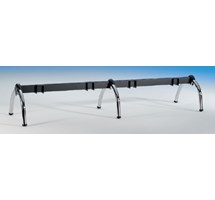 BENCH FRAME BLACK CAT 208CM LONG 4 PLACES