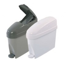 BIN SANITARY (SANIPED) 12 LTR PEDAL OPERATED (GREY)