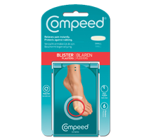 COMPEED BLISTER RELIEF PACK (SMALL) X 6