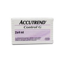 CONTROL SOLUTION ACCUTREND G 2 X 4ML