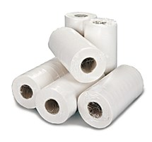 COUCH / BED ROLL 2 PLY WHITE X 9 ROLLS - 135 SHEETS 50MTRS