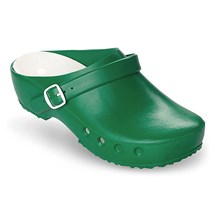 CLOG CHIRO GREEN WITH HEEL STRAP REMOVABLE INNER SOLE 12