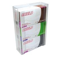 DISPENSER GLOVE TRIPLE CLEAR PLASTIC X 1 (SINGLE)