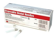 NEEDLE DENTAL 30G EXTRA SHORT (DEHP) X100