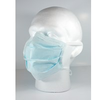 MASK FACE TECNOL 4 TIE BLUE X 50