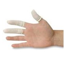 FINGER COTS SIZE 3 LATEX P/FREE PACK OF 100