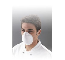 MASK FACE PREFORMED LATEX FREE (LARGE PARTICAL DUST) WHITE X 50