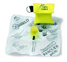 E-SHIELD SINGLE USE MOUTH-TO- MOUTH PROTECTION SHIELD X 1