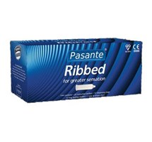 CONDOM PASANTE RIBBED CLINIC PACK X 144