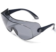 GOGGLES COVERSIGHT SAFETY (UNODENT) SMOKE LENS X 1 PAIR