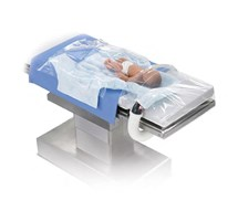 WARMING BLANKET FOR SURGICAL PROCEDURES (PAEDIATRIC UNDERBODY) DUAL HOSE PORT X 1