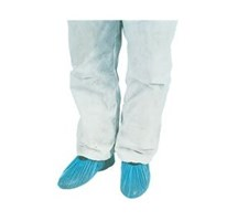 "OVERSHOES POLYTHENE 16""  BLUE X100"