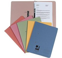 TRANSFER FILE (Q-CONNECT) FOOLSCAP/A4 35MM CAPACITY BUFF X 25