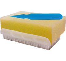 SCRUB BRUSH IMPREGNATED WITH CHLORHEXIDINE X 25