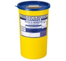 SHARPS BIN+LID 5LTR BLUE (PHARMI)