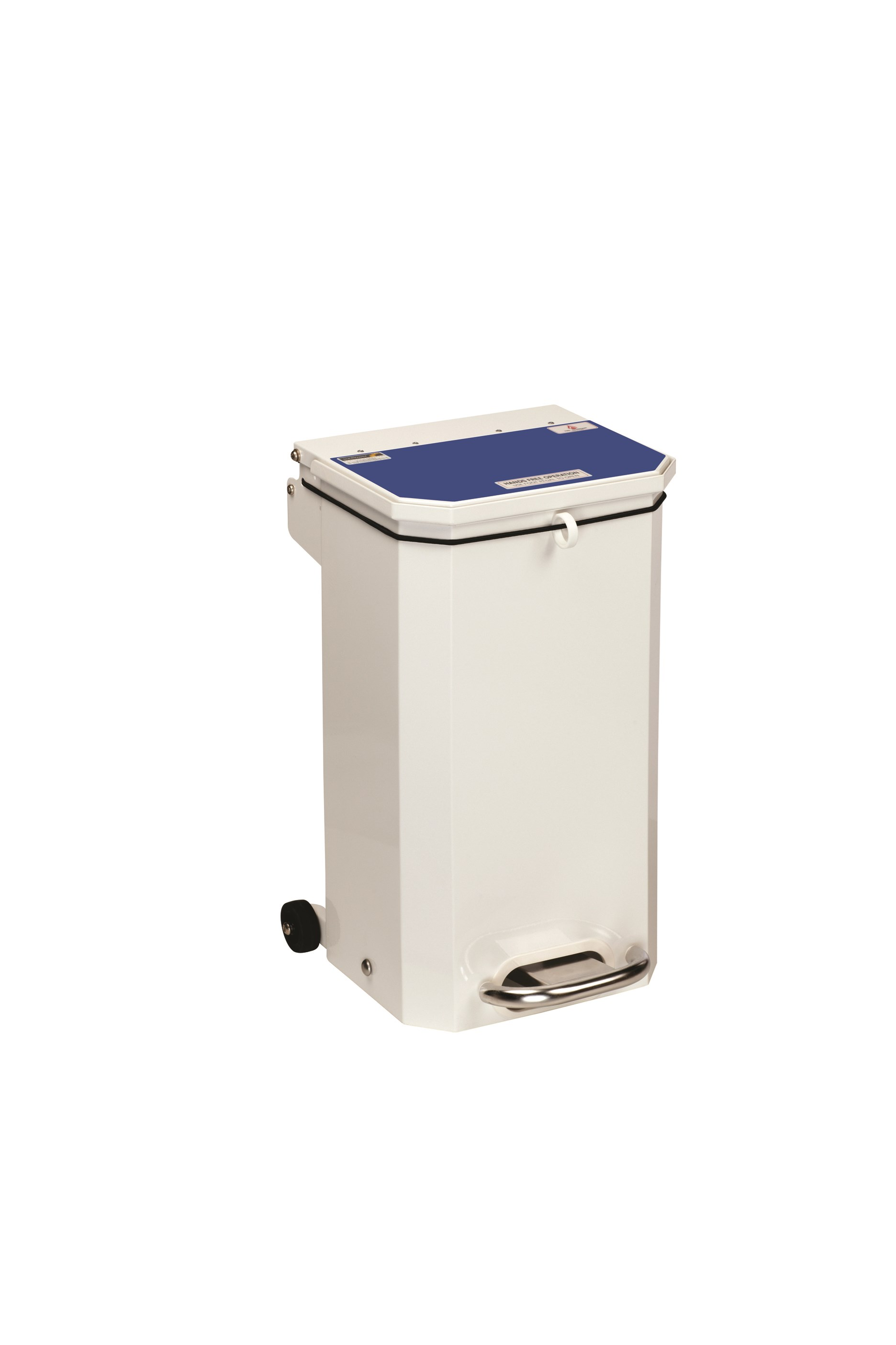 BIN PEDAL 20 LTR WITH BLUE LID USER DEFINED