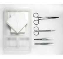 SUTURE PACK STANDARD FINE (DISPOSABLE STERILE STAINLESS STEEL SINGLE USE) X 1