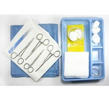 TOE NAIL REMOVAL PACK (DISPOSABLE STERILE STAINLESS STEEL SINGLE USE) X 1