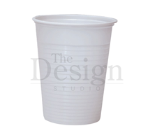 CUP DISPOSABLE PLASTIC (DEHP) WHITE 180ML X 3000