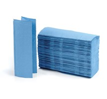 TOWEL HAND (UNODENT) Z-FOLD 1PLY BLUE X 3000