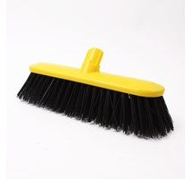 "BROOM HEAD HARD (COLOUR CODED) 10.5"" YELLOW X 1"