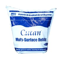 WIPES MULTI-SURFACE DETERGENT BUCKET REFILL (DEB CUTAN) X 225 (NO ALCOHOL)