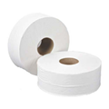"TOILET ROLL MINI JUMBO 2 PLY WHITE X 6 (3"" CORE 250 MTR)"
