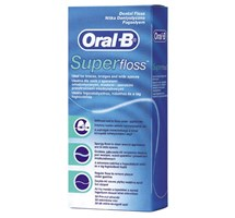 FLOSS DENTAL SUPER (ORAL B) STANDARD X 12