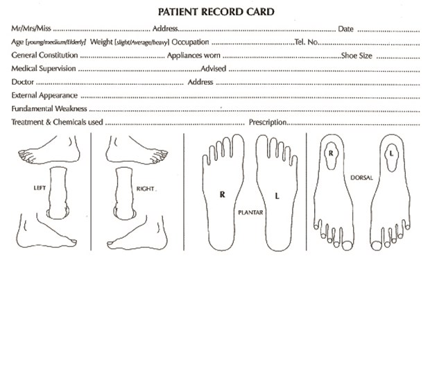 records cards patient podiatry white 8 x 5 x 100. Black Bedroom Furniture Sets. Home Design Ideas
