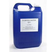 WATER (PURIFIED) - 5 LITRES