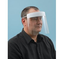 VISOR (UNODENT) FACE ELASTICATED DISPOSABLE X 12