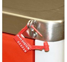 TROLLEY SECURITY SEAL TAGS X 100