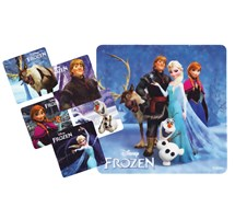 STICKERS MOTIVATOR (MEDIBADGE) DISNEY FROZEN X 90